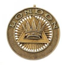Masonic Silver Grand Chapter Rank Collar Jewel, 1913.
