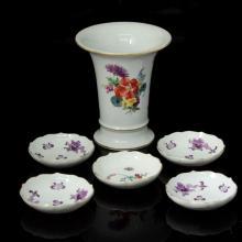 Lot of Meissen Porcelain Items.