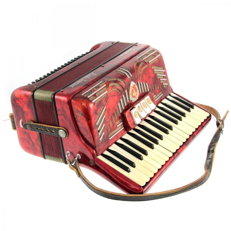 Paolo Soprani Accordion in Case.