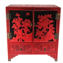 Chinese Cinnabar Lacquer Chest.
