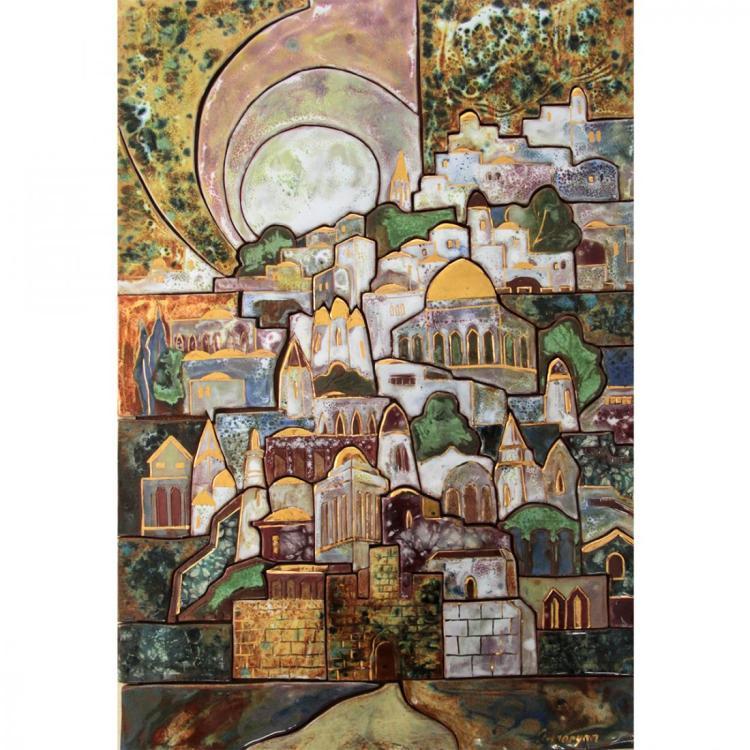 Marina Grigoryan - Jerusalem, Ceramic.