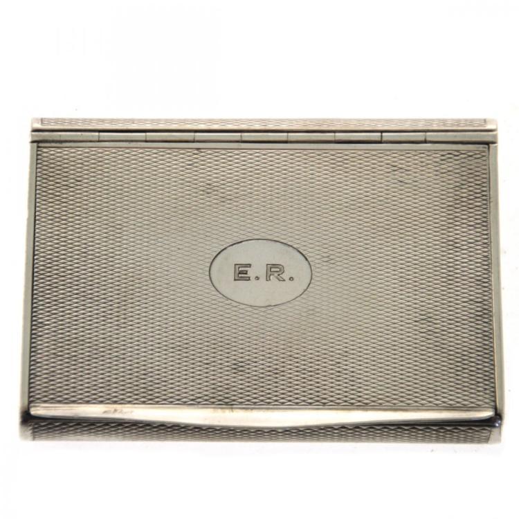 Silver Snuff Box, Vienna, Austria, Circa 1927.
