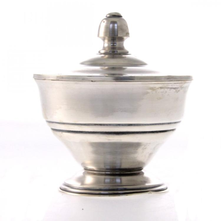 Silver Bowl and Cover.