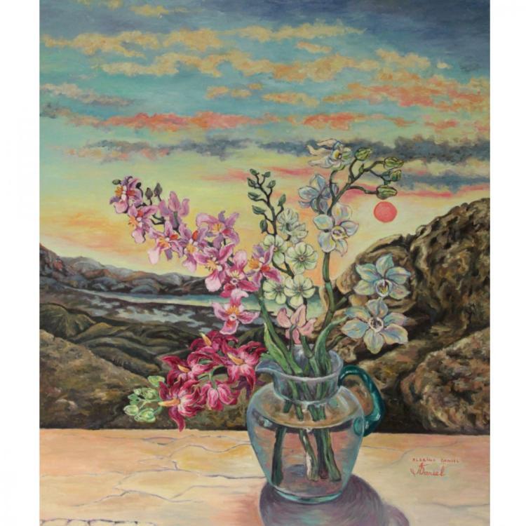 Albina Daniel - Dead Sea, Oil on Canvas.