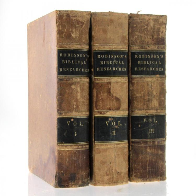 Biblical Researches in Palestine, Edward Robinson, 1841