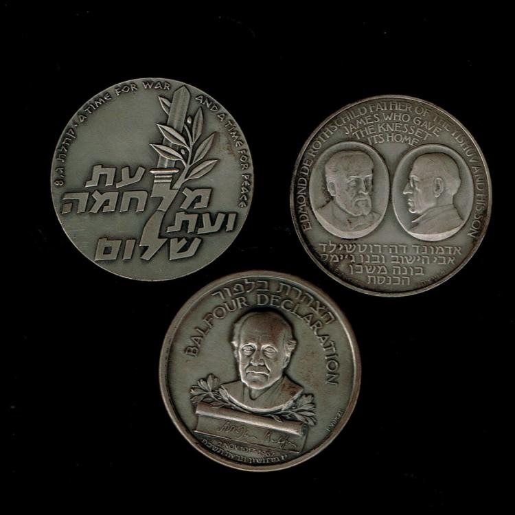 3 Israel Silver Medals.