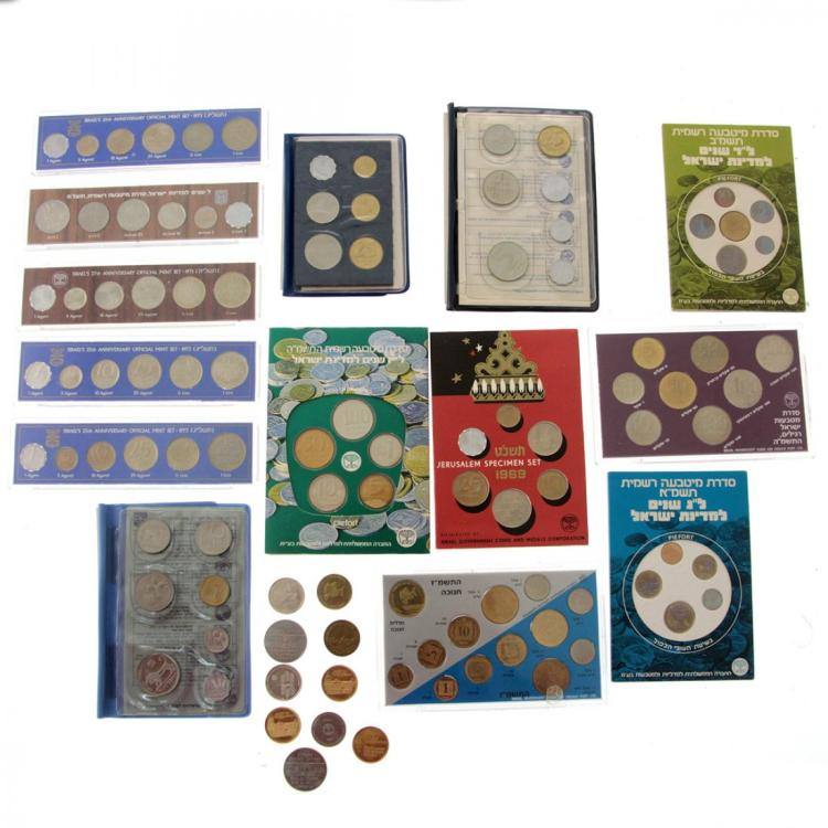 14 Israel Official Mint Sets.