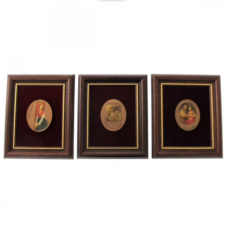 3 Israel Bronze Medals.