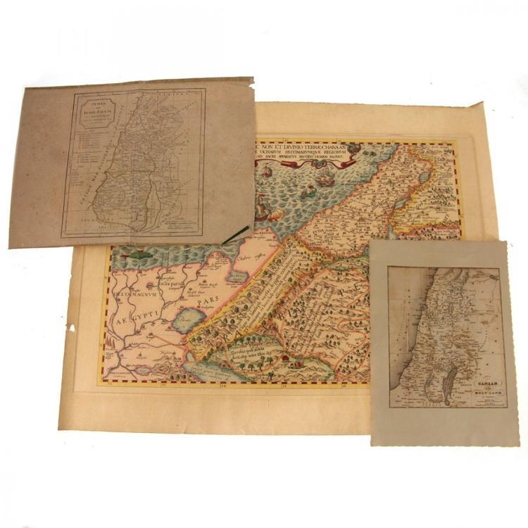 3 Holy Land Maps.