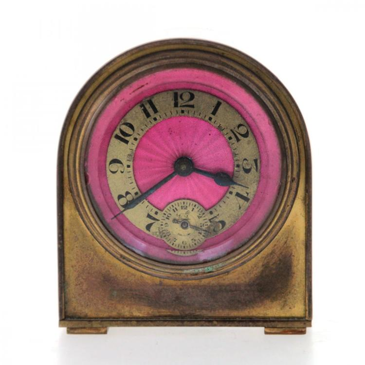 Brass Alarm Clock.