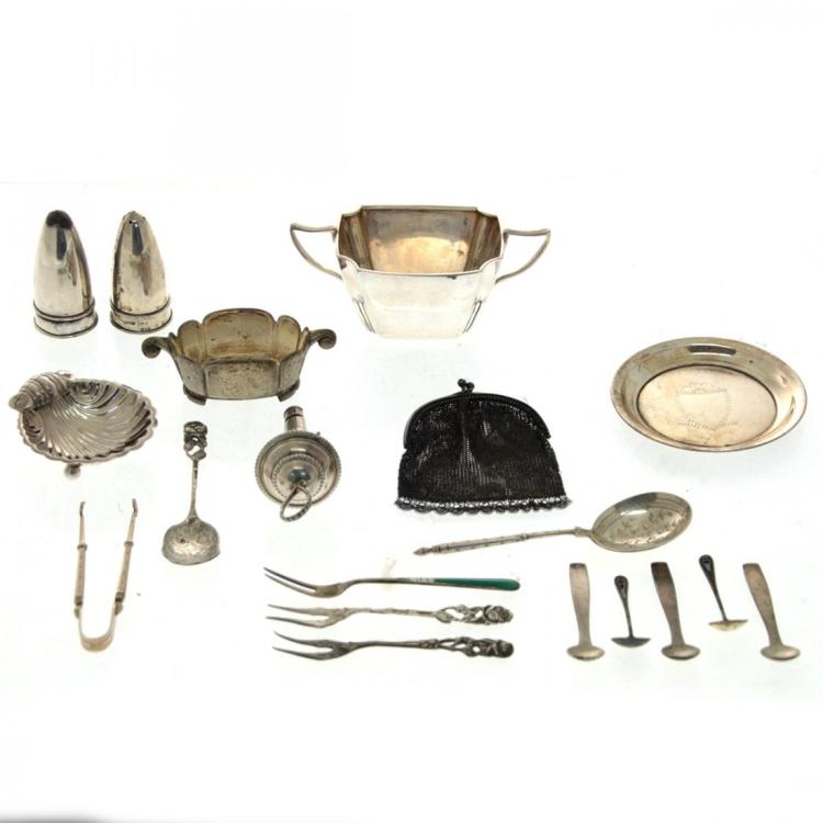 Lot of Silver Items.
