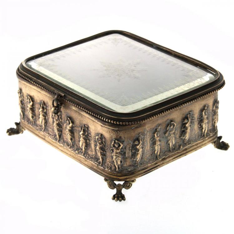 Antique Jewelry Box, 19th Century.
