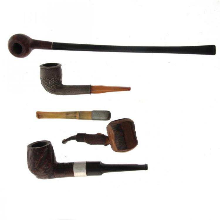Lot of 5 Pipes.