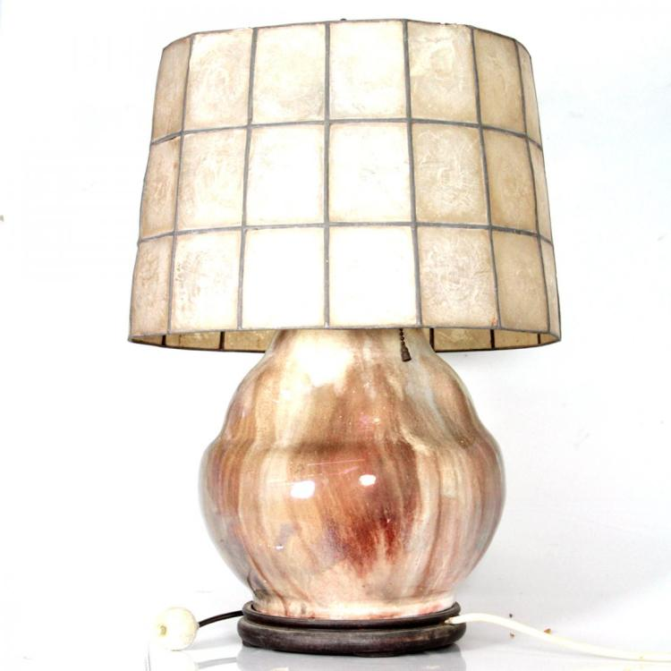 Vintage Ceramic Table Lamp.