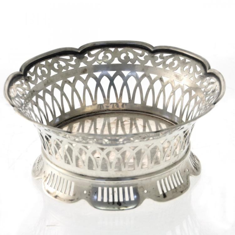 Silver Basket, Germany, Circa 1900.