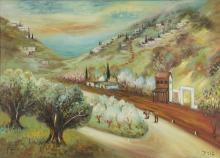 Nikola Kovac - Galilee, Oil on Canvas.