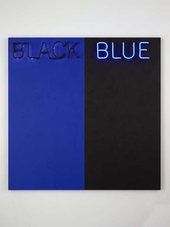 Deborah Kass, Black and Blue #2
