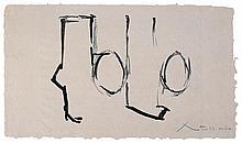 Robert Motherwell, Spanish Elegy I