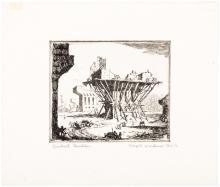 Viaduct Builders - original signed etching