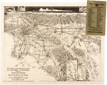 Midget Map of Santa Ana California