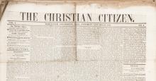 ï¾?The Christian Citizenï¾?, Vol. 1, Nos. 2ï¾?45, Jan.13 ï¾? Nov. 9, 1844