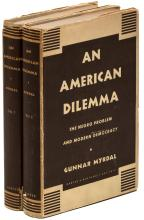 An American Dilemma: The Negro Problem and Modern Democracy