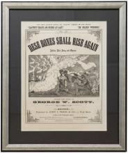 Dese Bones Shall Rise Again: Jubilee End Song and Chorus - sheet music cover