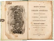The Dreadful Sufferings and Thrilling Adventures of an Overland Party of Emigrants to California, their Terrible Conflicts with Savage Tribes of Indians!!!!