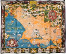 A Map of Berkeley, Oakland and Alameda
