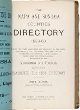 The Napa and Sonoma Counties Directory, 1889-90