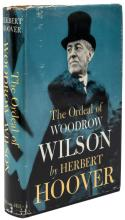 The Ordeal of Woodrow Wilson - signed by author