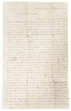 Autograph Letter Signed by Laura Adams, writing from East Bloomfield, NY, to her brother Newton Adams, a missionary doctor in South Africa