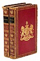 1824 & 1825 Almanacks from King George IV Library
