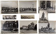 Original snapshots of the destruction caused by the 1925 Santa Barbara Earthquake and the 1933 Long Beach Earthquake