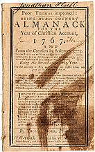 Poor Thomas Improved: Being More's Country Almanack for the Year of Christian Account, 1767