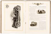 Five booklets and brochures on early Automobiles