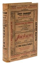 Polk's Vallejo (California) City Directory 1937 including Fairfield... Also a Buyers' Guide and a Complete Classified Business Directory...