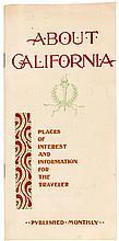 About California: Places of Interest and Information for the Traveler
