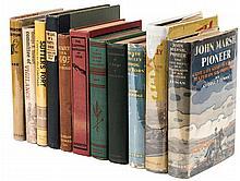 Eleven volumes on California history