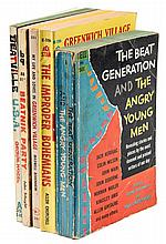 Five paperback works about the Beats