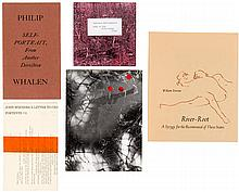 Small collection of works by Ferlinghetti, Whalen, Everson, and other Beat writers