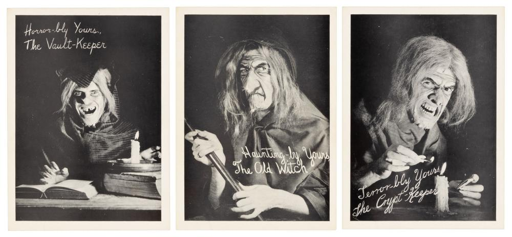 Original EC GHOULUNATIC Photos, w/ Original Mailer, c.1951