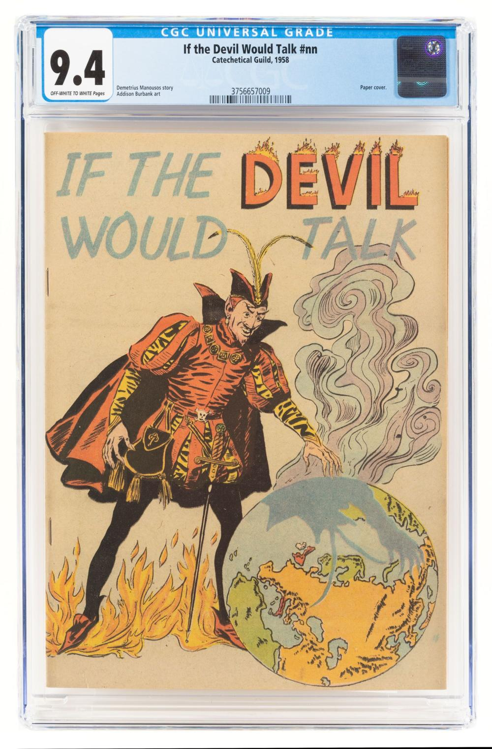IF THE DEVIL WOULD TALK * 1958 Version * CGC 9.4