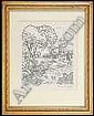 Angelo, Valenti [1897-1982] Pen and ink drawing, Valenti Michael Angelo, Click for value