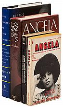 Four works by or about Angela Davis, including two signed by her