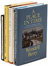 Five volumes by Wendell Berry - two signed