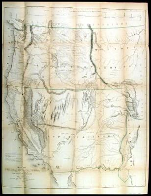 Map of Oregon and Upper California from the Surveys of John Charles Frémont and other Authorities.