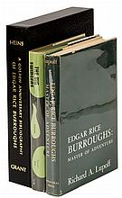 Three volumes about Edgar Rice Burroughs and his writings