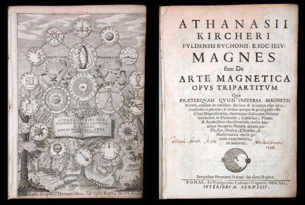Magnes sive de arte magnetica opus tripartitum...