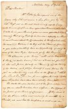 Autograph Letter Signed - 1796 American Loyalist exile in England seeks British compensation